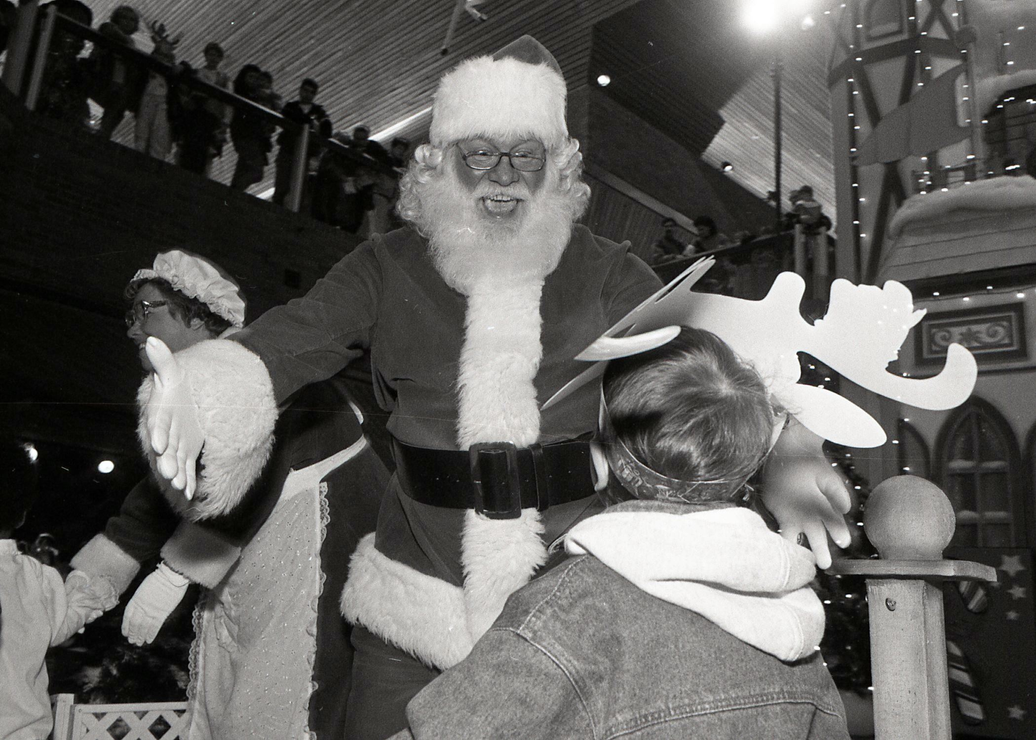 Santa at Coquitlam Centre, 1993 (JPG) Opens in new window