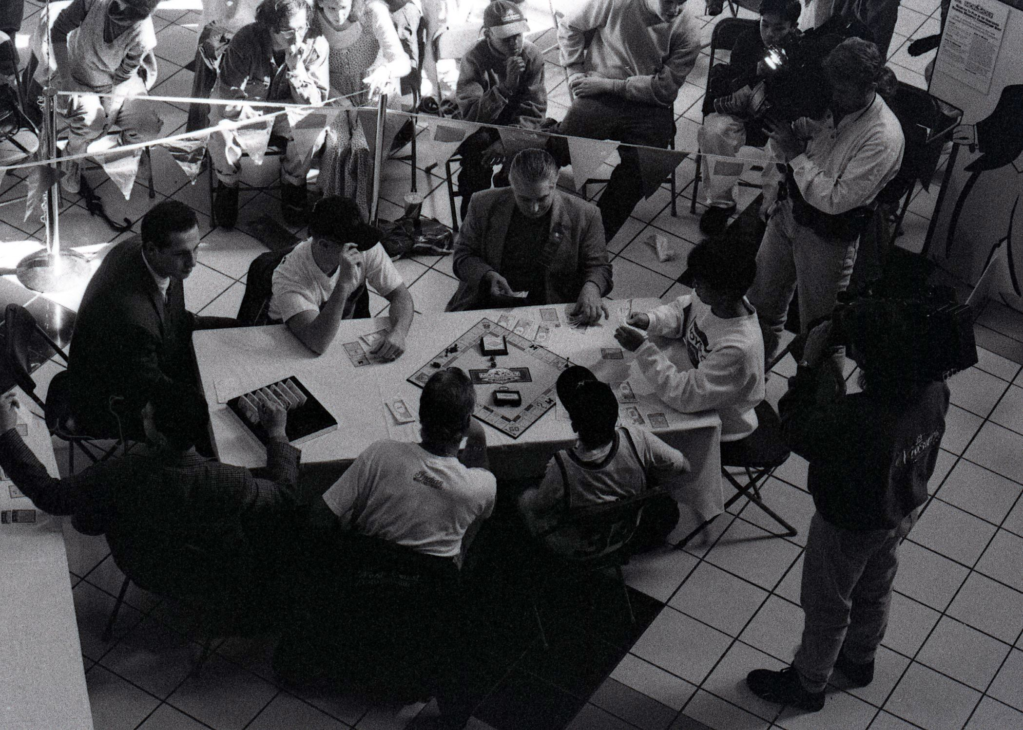 Regional Monopoly Championships at Coquitlam Centre, 1995 (JPG) Opens in new window
