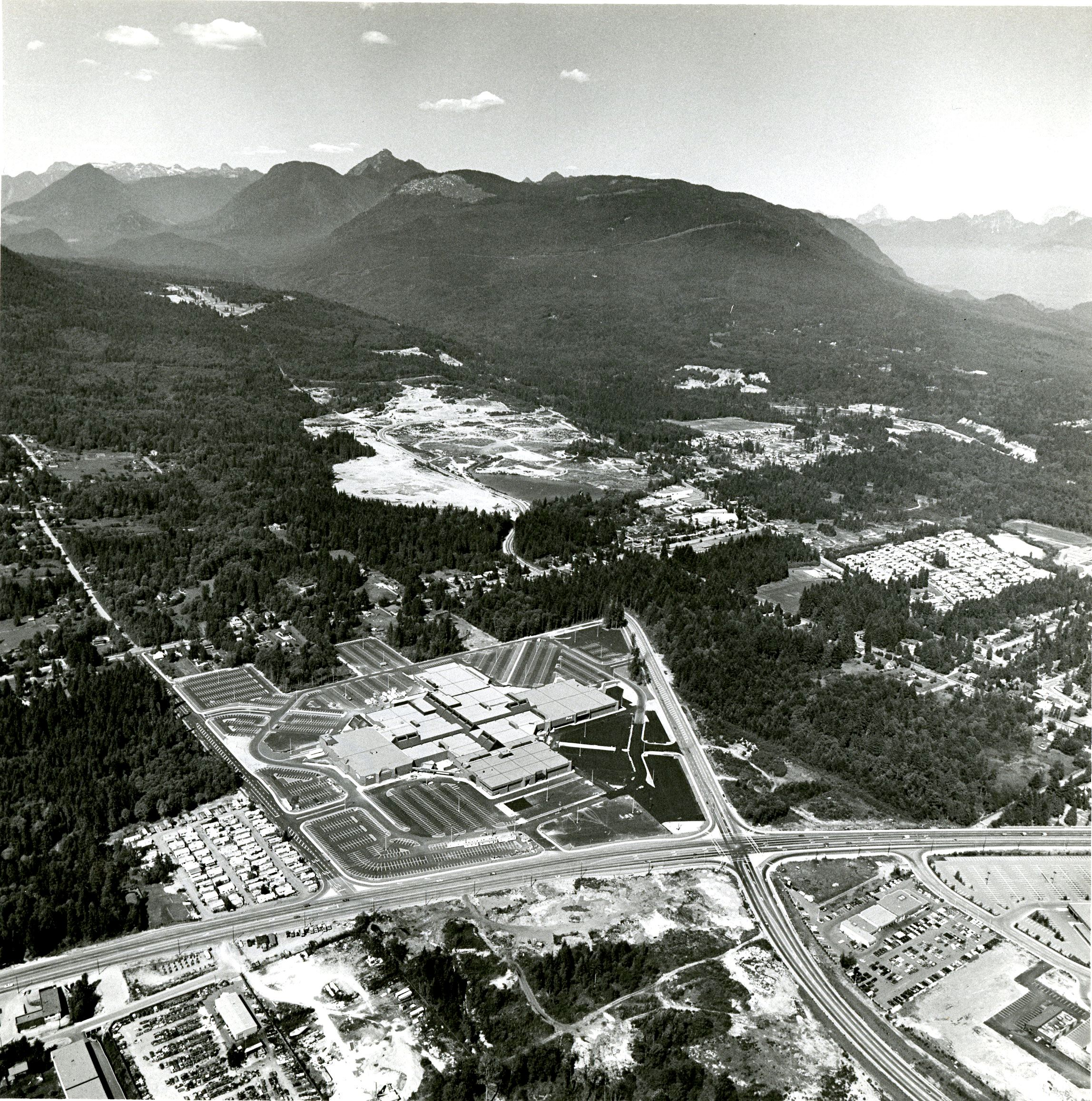 Aerial of Coquitlam Centre and Surrounding Area (JPG) Opens in new window