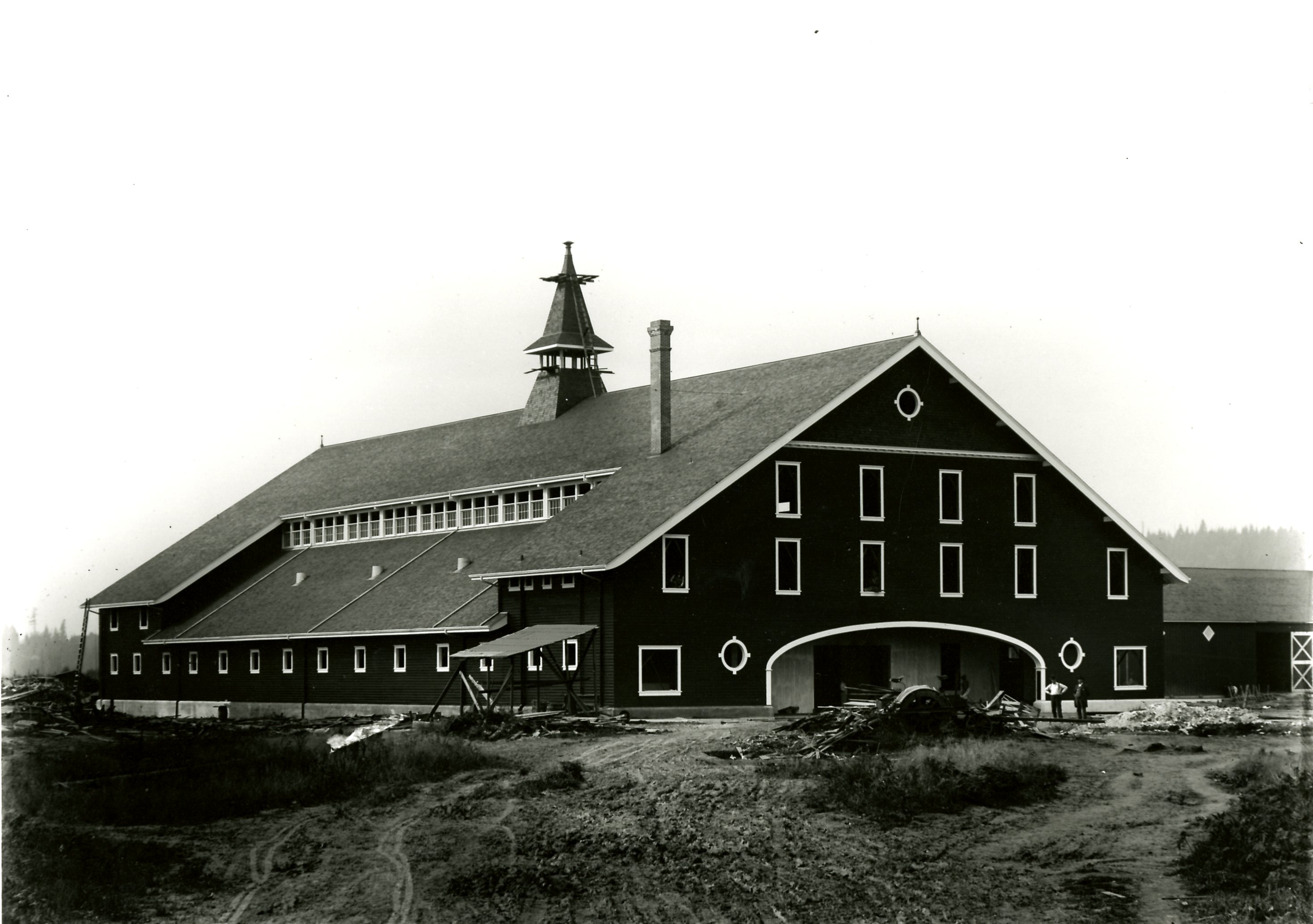 Main Barn at Colony Farm, Circa 1912 (JPG) Opens in new window