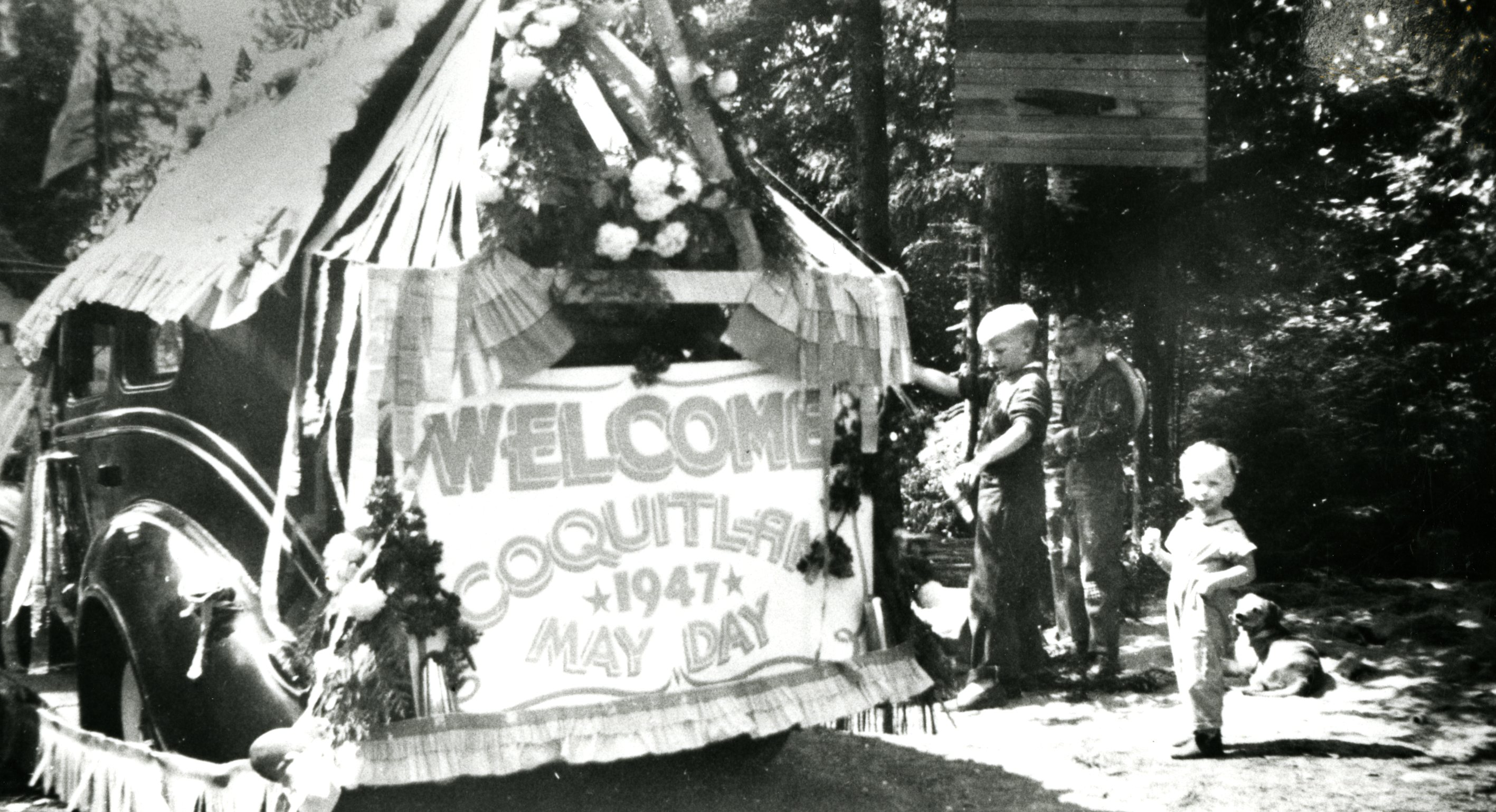May Day Parade, Austin Heights, 1947 (JPG) Opens in new window