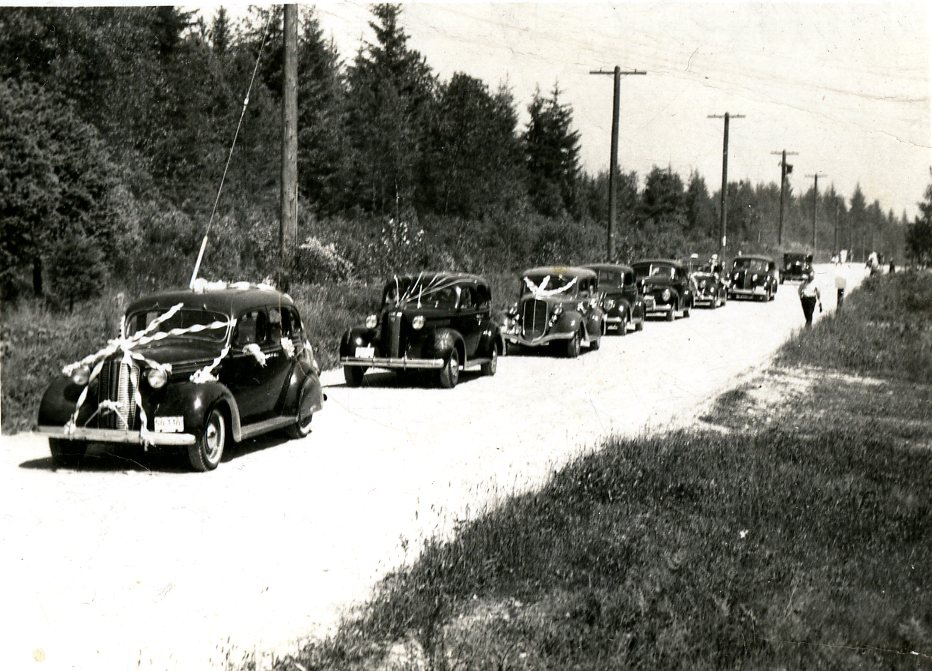 May Day Car Parade, 1941 (JPG) Opens in new window