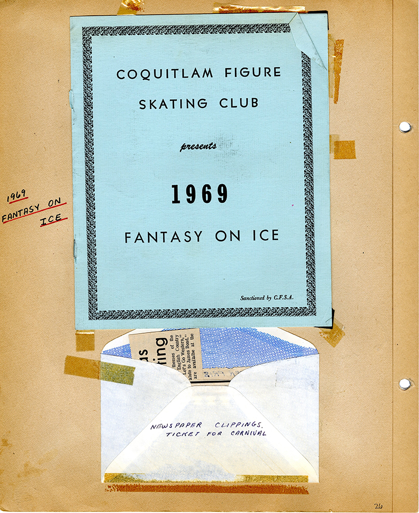 Coquitlam Figure Skating Club Scrapbook, 1963 to 1980 (JPG) Opens in new window