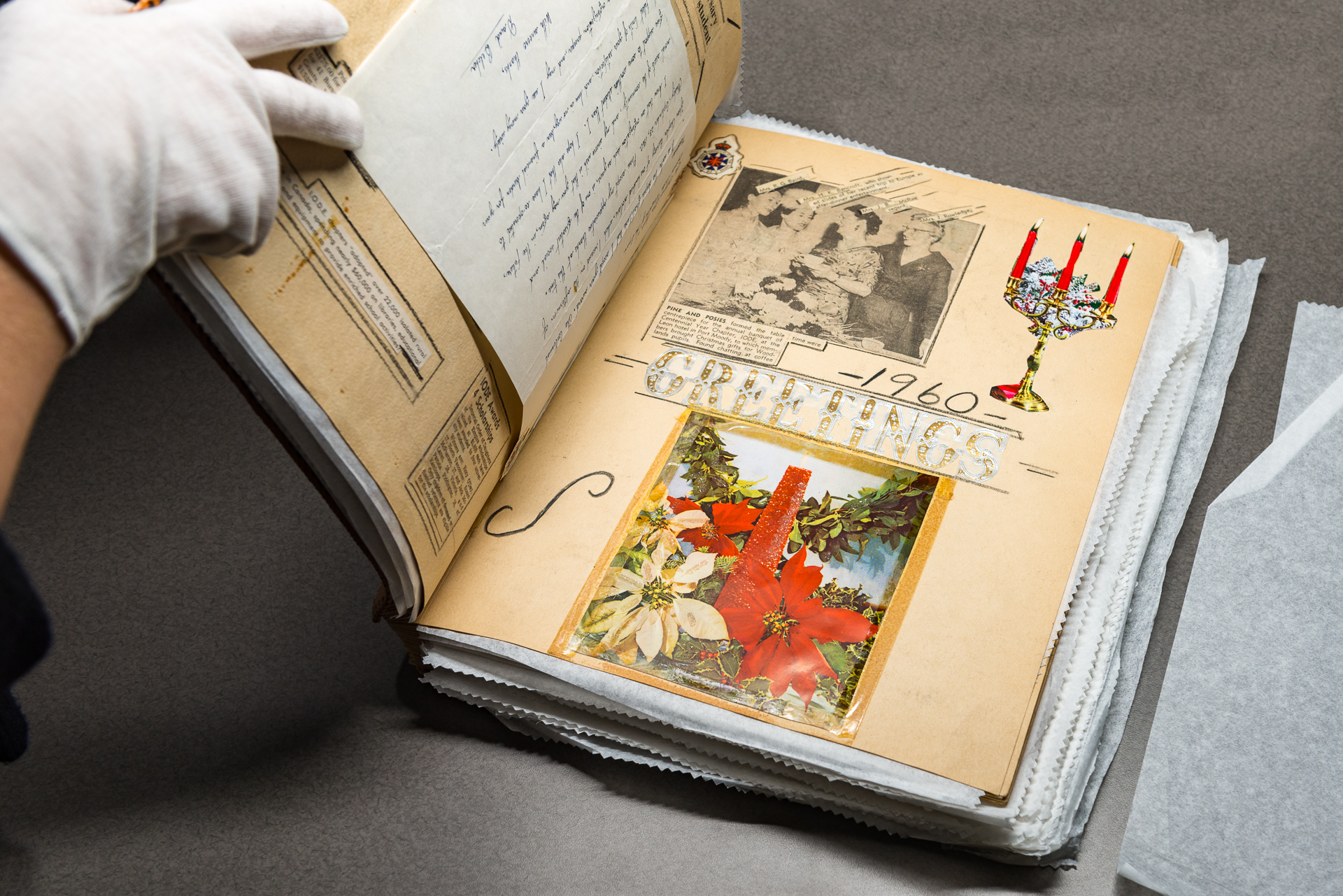 Imperial Order of the Daughters of the Empire Centennial Scrapbook, Circa 1971 (JPG) Opens in new window